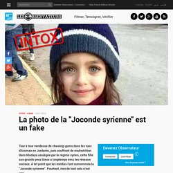 "La photo de la ""Joconde syrienne"" est un fake"