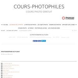 La photographie au flash