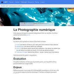La Photographie numérique — SNT