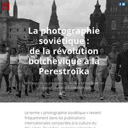 La photographie soviétique