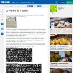 La Piedra de Rosetta - Taringa!
