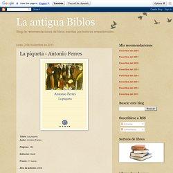 La piqueta - Antonio Ferres