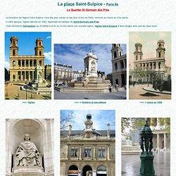 La place Saint-Sulpice