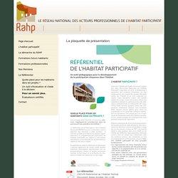RAHP : Réseau National des acteurs de l'Habitat Participatif
