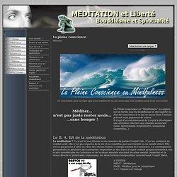 B. A. BA de la méditation