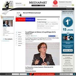 La politique en Suisse et la politique de la Suisse II !