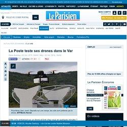 La Poste teste ses drones dans le Var