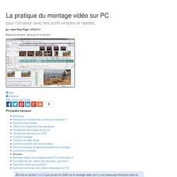 La pratique du montage vidéo sur PC