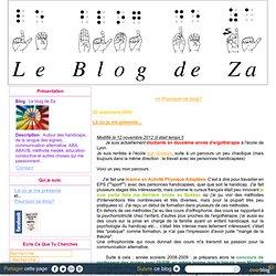 Blog de ZA- ergo et passionnée