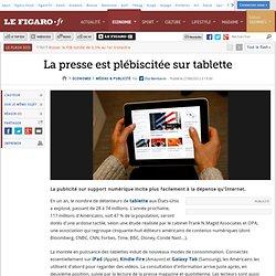 Médias & Publicité : La presse est plébiscitée sur tablette