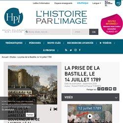 La prise de la Bastille, le 14juillet 1789
