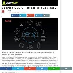 12/03/15 La prise USB C : qu'est-ce que c'est ?