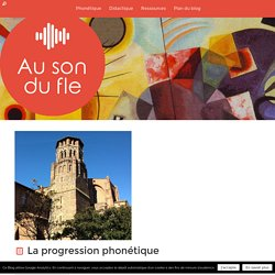 La progression phonétique