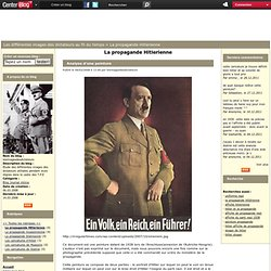 La propagande Hitlerienne