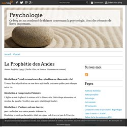 La Prophétie des Andes - Psychologie