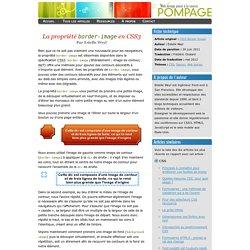 La propriété border-image en CSS3