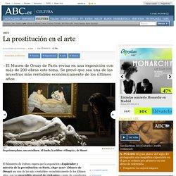 La prostitución en el arte