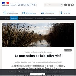 La protection de la biodiversité