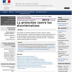 La protection contre les discriminations