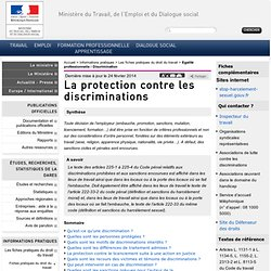 La protection contre les discriminations