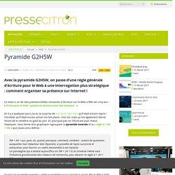 La pyramide G2H5W