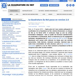 La Quadrature du Net passe en version 2.0
