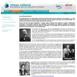 1896 Découverte radioactivité naturelle