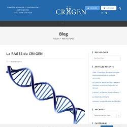 La RAGES du CRIIGEN - Criigen