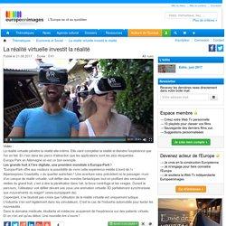 La réalité virtuelle investit la réalité