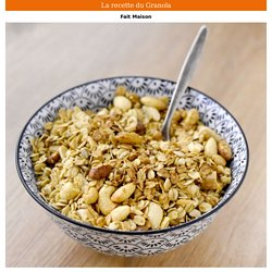 La recette du Granola Fait Maison