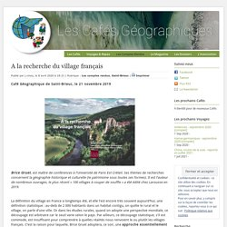 A la recherche du village français