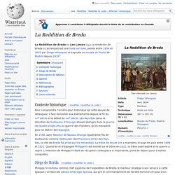 La Reddition de Breda