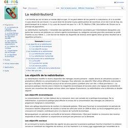 La redistribution2 - ECODROIT