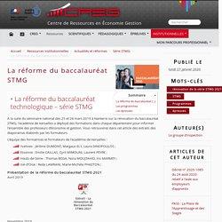 La réforme du baccalauréat STMG