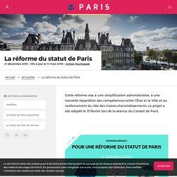 La réforme du statut de Paris