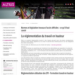 La réglementation - Altius