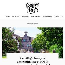 Village français anticapitaliste et 100 % autonome
