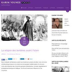 La religion des berbères avant l'Islam