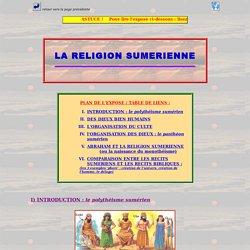 La religion sumérienne et la Bible