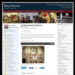 Podcast Franceinter: La Renaissance italienne
