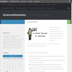 La BD de reportage – SciencesDessinées