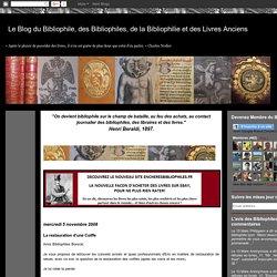 Le Blog du Bibliophile, des Bibliophiles, de la Bibliophilie et des Livres Anciens: La restauration d'une Coiffe