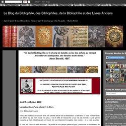 Le Blog du Bibliophile, des Bibliophiles, de la Bibliophilie et des Livres Anciens: La restauration d'une reliure II : le Mors
