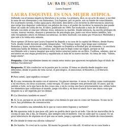 La Revista: Laura Esquivel