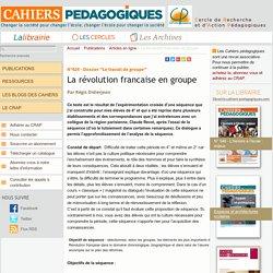 La révolution francaise en groupe