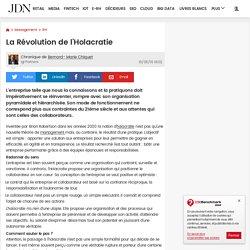 La Révolution de l'Holacratie