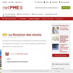 La Rotation des stocks