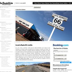 La Route 66 en Californie - Fin de la Route 66