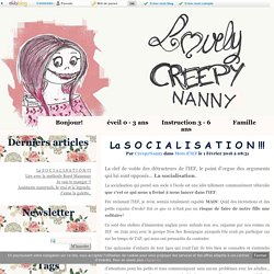 La S O C I A L I S A T I O N !!! - Lovely Creepy Nanny