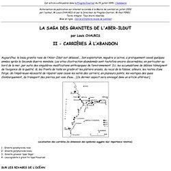 La Saga des granites de l'Aber-Ildut - II